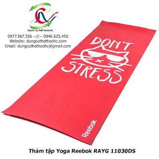 Thảm tập Yoga Reebok RAYG 11030DS