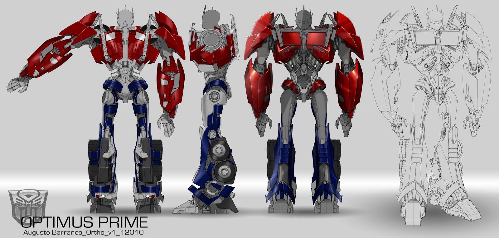 Augusto Barranco: Transformers Prime unloaded