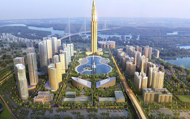 Phối cảnh thành phố thông minh với mức đầu tư 4 tỷ USD
