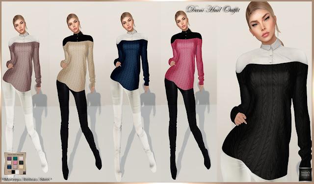 SASCHA'S DESIGNS - Dani HUD Outfit (Mesh Bodies)