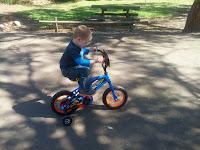 Duncan's new Bike