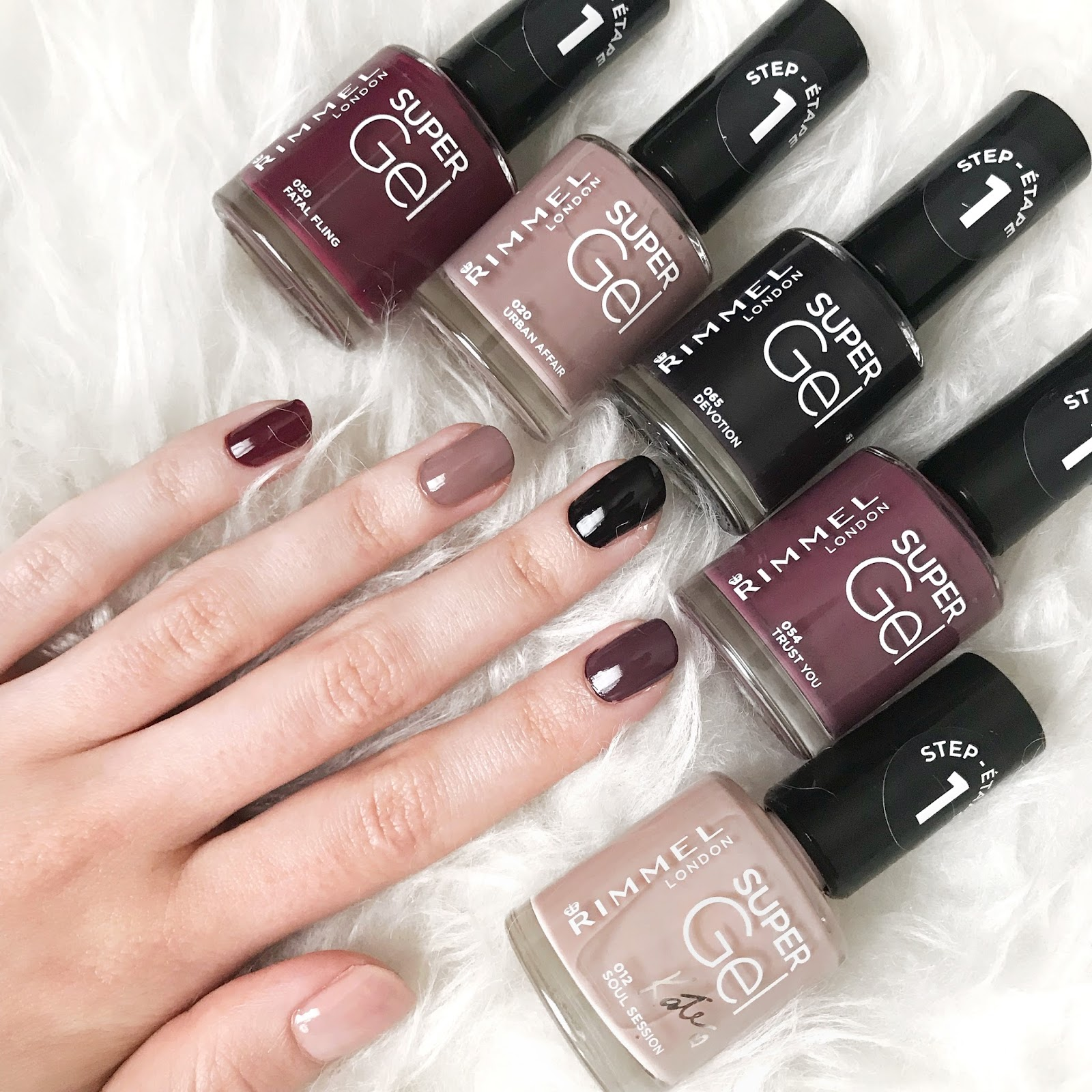 colour nail Ebony london