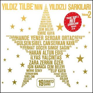 Yıldız Tilbe 2018 Yıldızlı Şarkıları Volume 2 Albüm Kapak Fotoğrafı