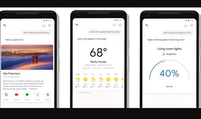 Widget Prakiraan Cuaca - Google Assistant