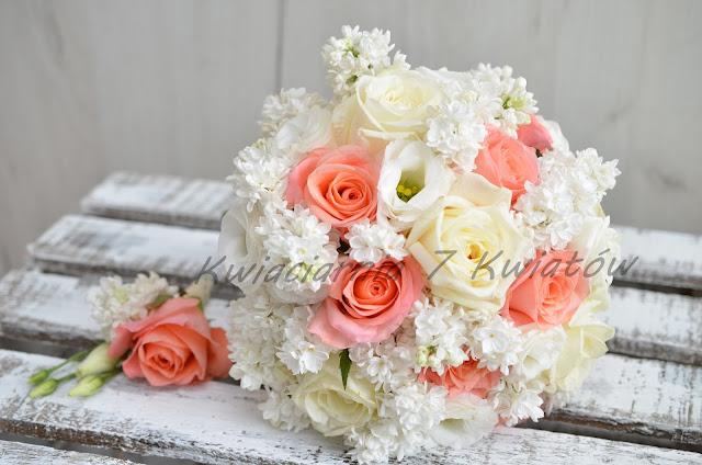 majowy bukiet ślubny