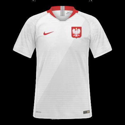GT Camisas  Camisas Polônia 2018   2019 - Home e Away d602cb3e07d84