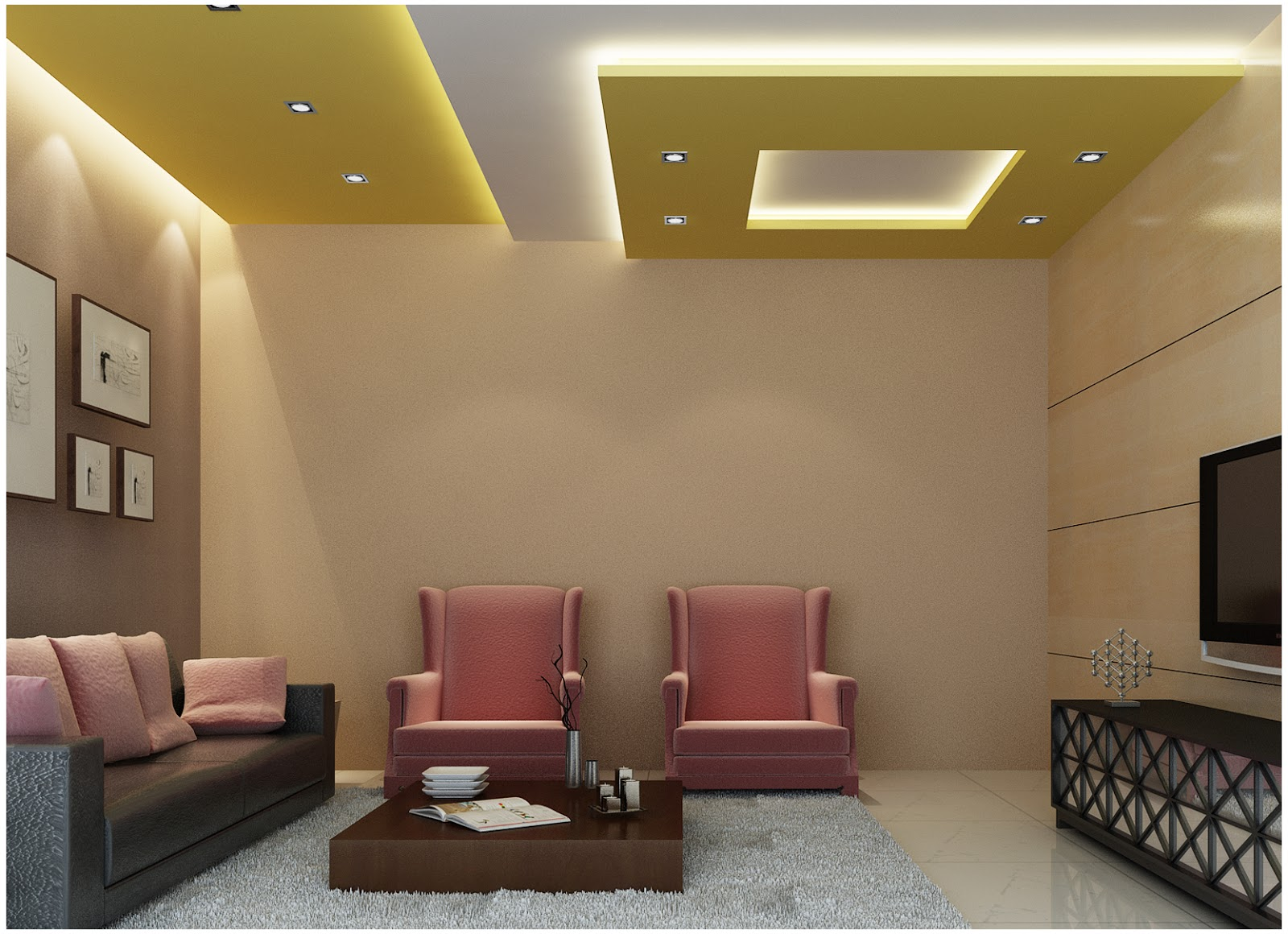 Latest plaster of paris designs joy studio design for Wall ceiling pop designs