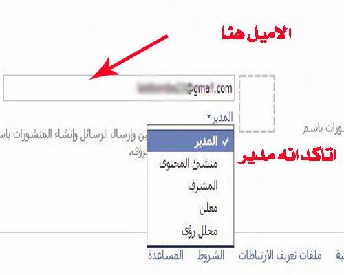 كيفية عمل مدير مخفى لصفحة فيس بوك شرح تعين ادمن مخفى للفان