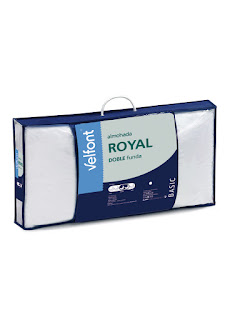 Almohada de fibra ROYAL de Velfont