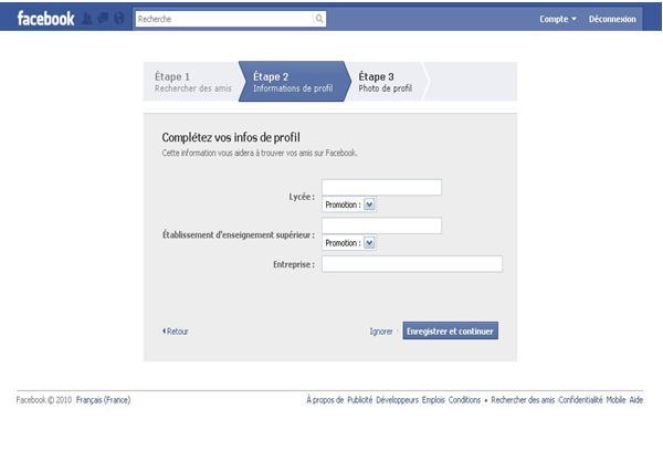 facebook facebook connexion