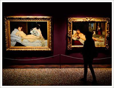 Олимпия Эдуарда Мане, музей д орсе, тициан венера урбинская