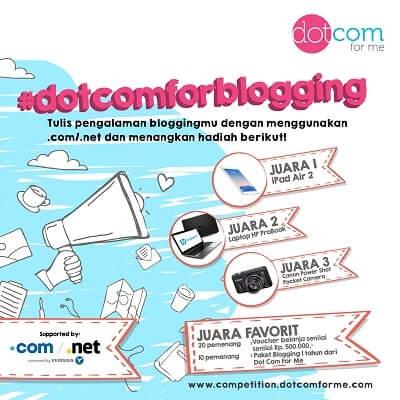 DotComForMe Blog Competition