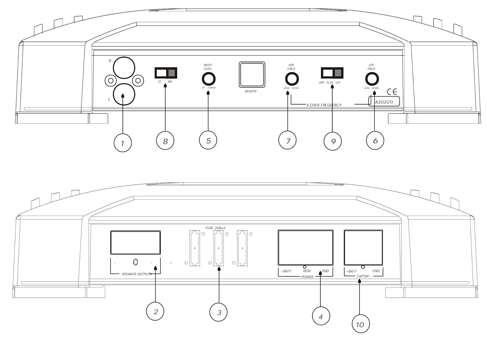 Car Amplifier Wiring Diagram Ht2000 Motherboard Jbl A302gti Amp Schematic
