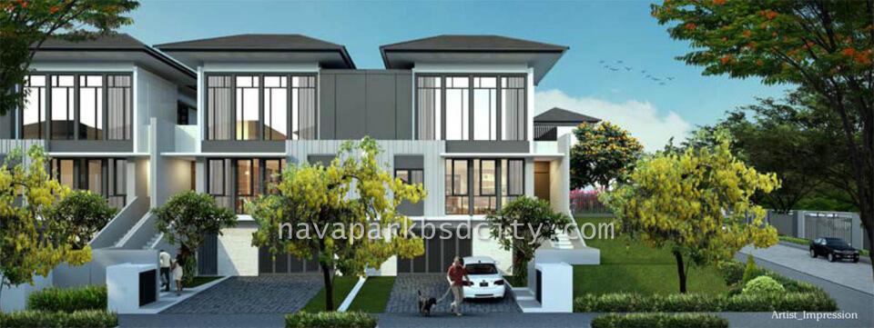 Tipe 10 Rumah Lakewood NavaPark