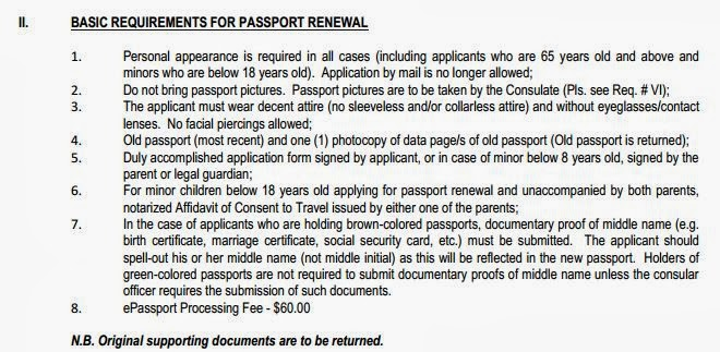 New Dfa Application Form For Passport Renewal