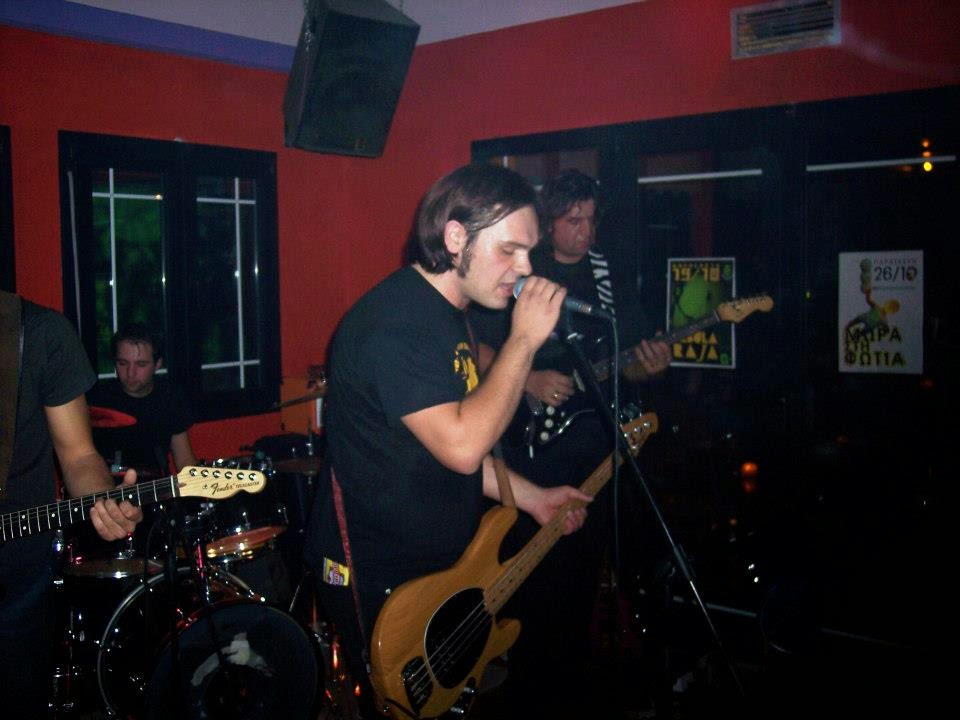Σέλας - greek rock band live