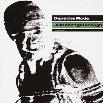 Depeche Mode - Just Can't Get Enough okładka singla