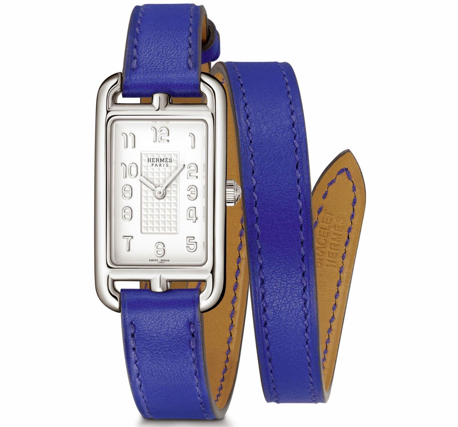 Hermès Nantucket Silverᶧ watch