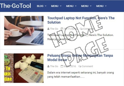Gambar Homepage
