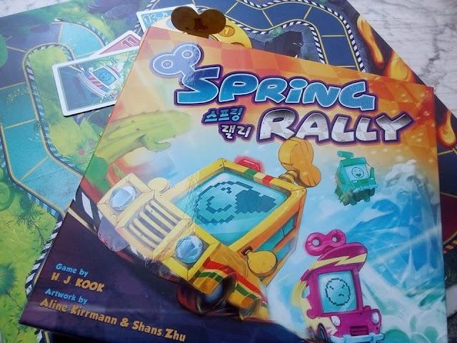 """""""Spring Rally"""", quando la briscola incontra il gioco di corse"""