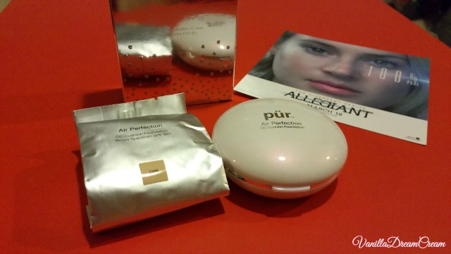 an extra refill of the air perfection compact cushion from pur cosmetics