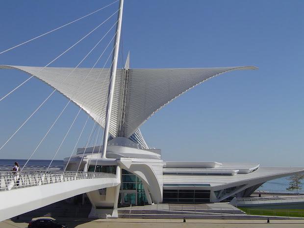 Salukitecture Visiting Milwaukee Art Museum