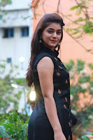 Actress Yamini Bhaskar in a Tight Black Sleeveless Dress ~  Exclusive 07.JPG