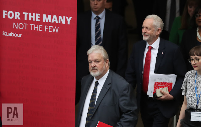 Jeremy Corbyn launches the Labour manifesto
