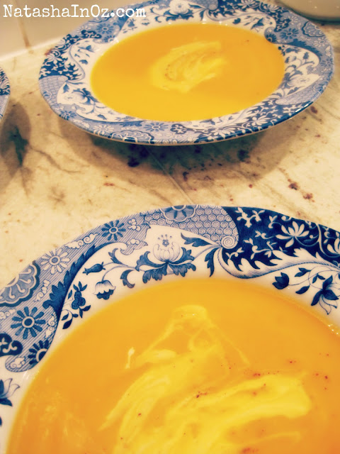 Say G'Day Saturday Linky Party, Roast Pumpkin Soup Recipe