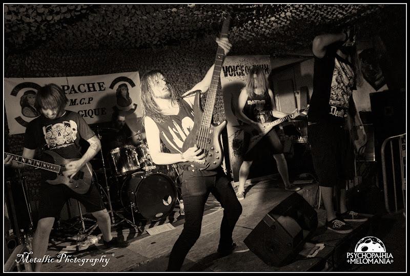 Voice Of Ruin @Metal Corporation Fest 2015 - METAL, MCP Apache, Fontaine-L'Évêque, Belgique 29/08/2015