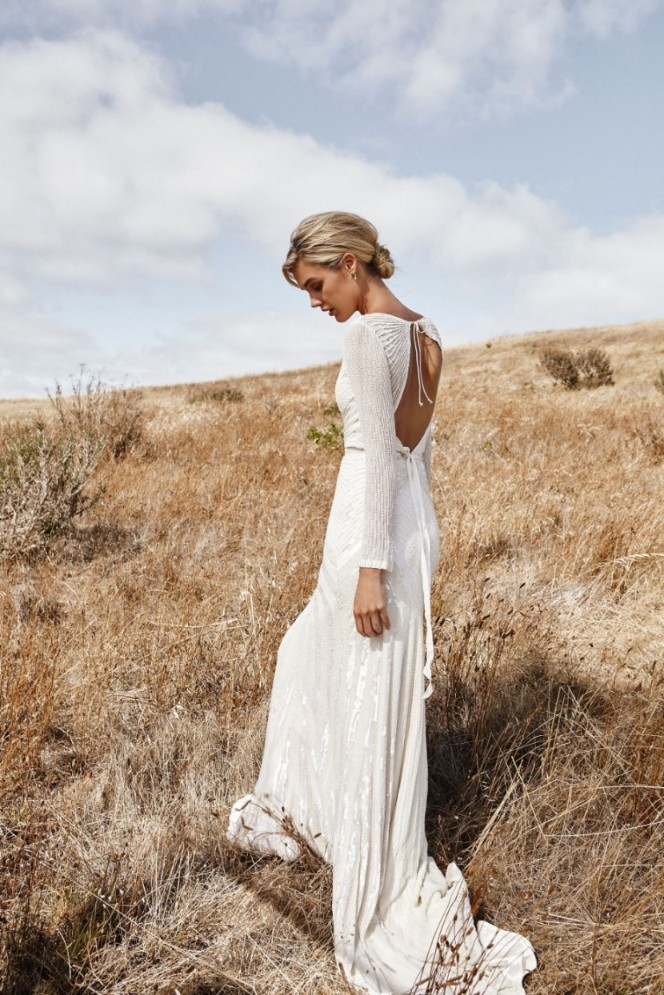 Gretl Watson-Blazewicz Photography AUSTRALIAN BRIDAL DESIGNER WEDDING DRESS KWHBRIDAL BEADED GOWN