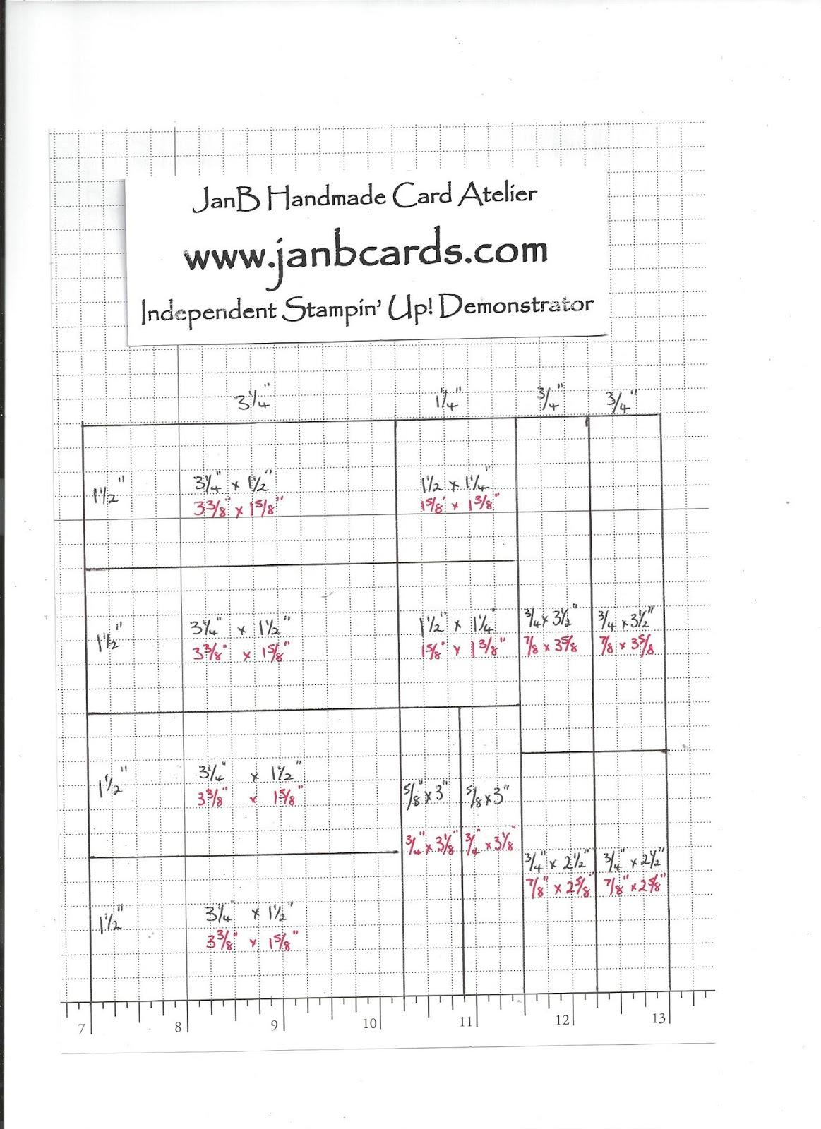 One Sheet Wonder Template - JanB Cards - photo#21