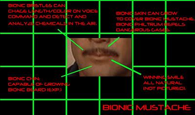 Bionic Mustache