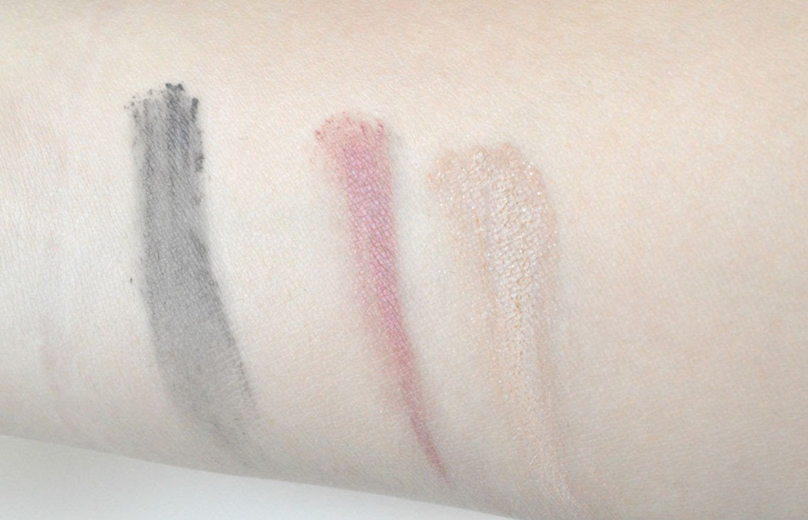 Pure Luxe Cosmetics Swatch Dusk Posh Aprils Mix