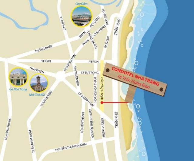Vị trí căn hộ vàng ngay vị trí vàng trung tâm thành phố