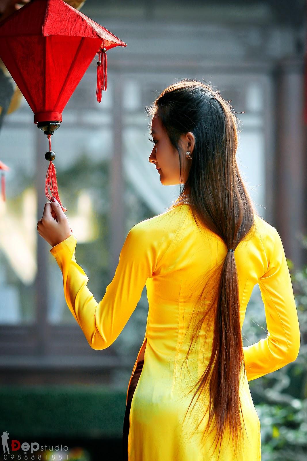 Ảnh đẹp girl xinh Áo dài truyền thống Việt Nam - Ảnh 24