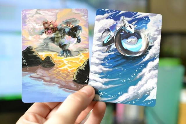 Artista pinta cartas de Pokemon y el resultado es simplemente genial