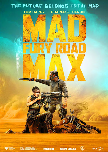 Poster of Mad Max Fury Road 2015 Hindi 720p BRRip Dual Audio Full Movie Download