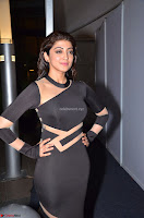 Pranitha Subhash in a skin tight backless brown gown at 64th Jio Filmfare Awards South ~  Exclusive 088.JPG