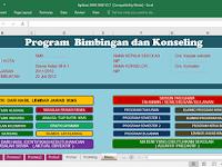 Aplikasi IKMS Bimbingan Konseling SD SMP SMA Format Excel