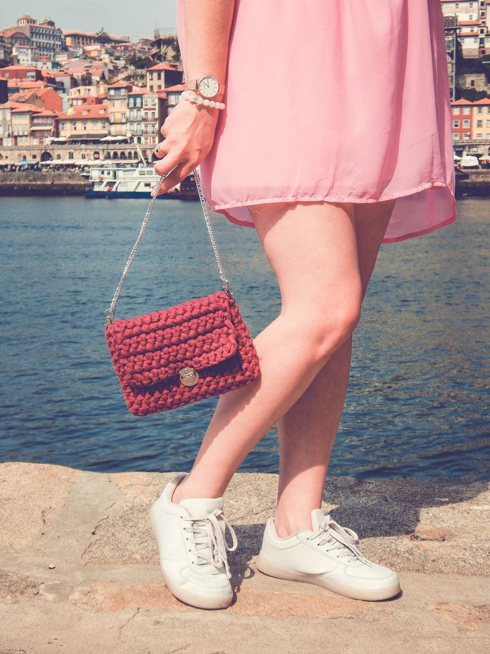 5 czy warto kupować w zaful gamiss sammydress dresslily porady recenzje opinie moje ubrania różowa sukienka z koronką białe sneakersy rene pleciona torebka ręcznie robiona handmade
