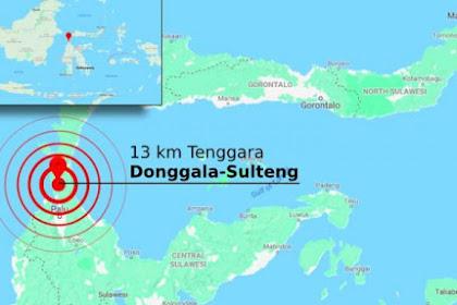 Donggala diguncang gempa 7,7 SR, berpotensi tsunami 385 Meninggal Dunia