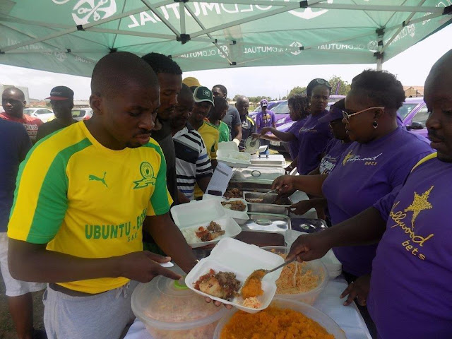 Food for the players - Hollywoodbets Charity Soccer Tournament - Polokwane