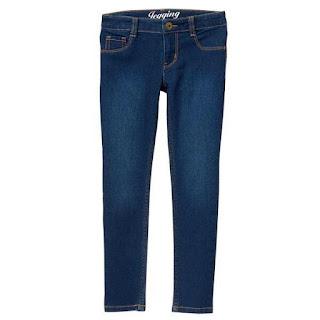 Quần thun giả jean, jean giả thun hiệu Crazy8 made in Vietnam, size từ 5-14T.