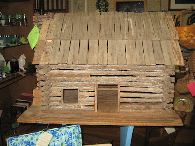log cabin doll house