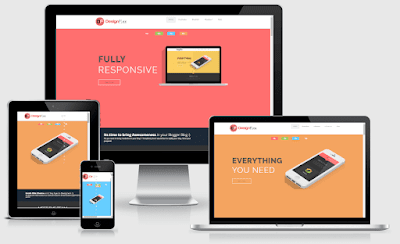 DesignFlex - Responsive Portfolio Blogger Template