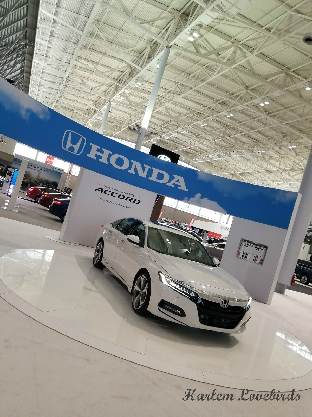 Harlem Lovebirds New England Auto Show With Honda Clarity - New england car show boston