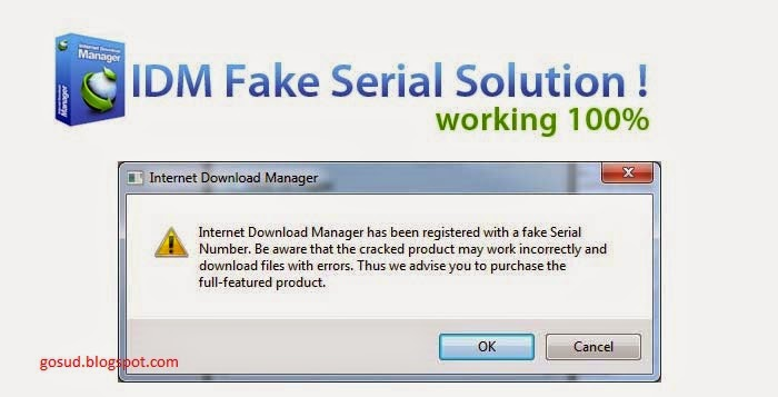 Idm Fake Serial Key Problem Solution - mptakeoff's diary