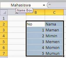 Cara Menghapus dan Mengedit Nama Tabel Hasil Define Name Microsoft ...