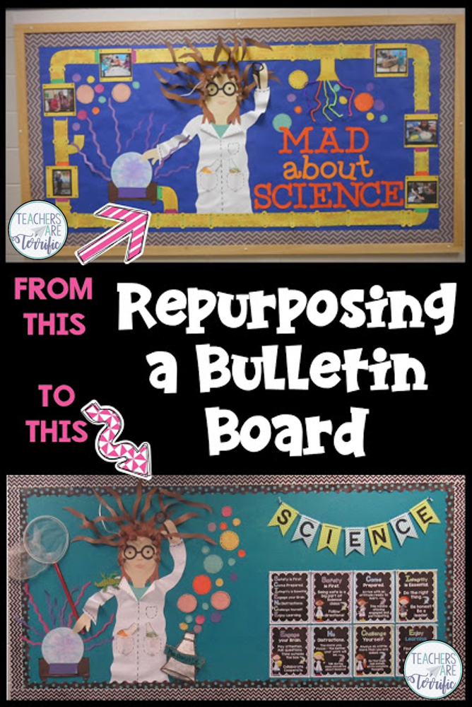 Physical Science Classroom Decorations ~ Mad about science bulletin boards teachers are terrific